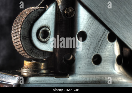 Zippo lighter - Stock Image