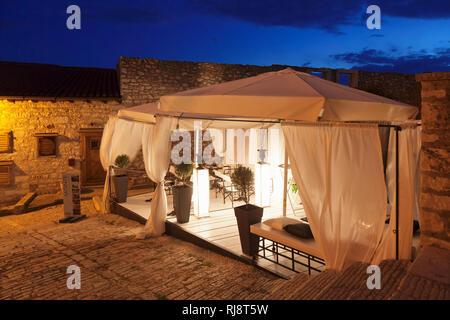 Monte Restaurant, Rovinj, Istrien, Kroatien - Stock Image