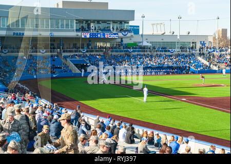 University of Kentucky baseball teams first game at new ball park Kentucky Proud Park - Stock Image