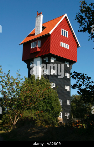 The House in the clouds Thorpeness Suffolk England - Stock Image