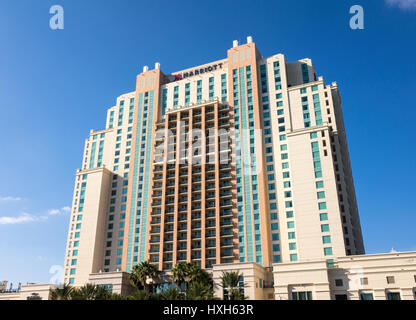 Marriott Hotel, Tampa, Florida, USA - Stock Image
