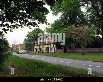 George and Dragon public house in Sutton Courtenay, Oxfordshire. - Stock Image