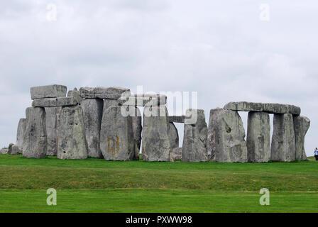 Stonehenge , UK historical site - Stock Image