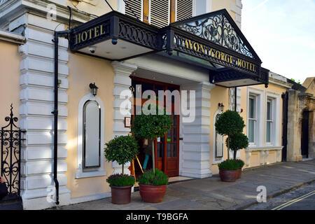 Entrance Avon Gorge Hotel, Clifton, Bristol, UK - Stock Image