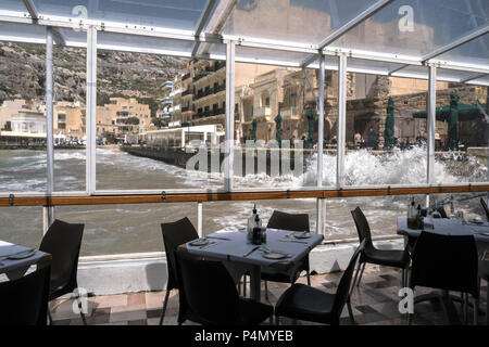 Gozo-Xlendi Malte - Stock Image