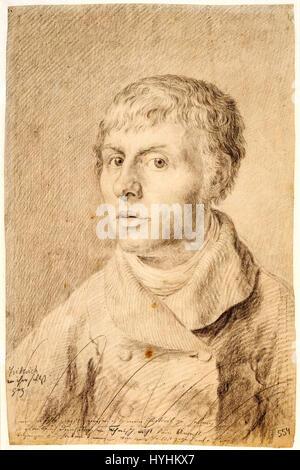 Caspardavidfriedrich self1 - Stock Image