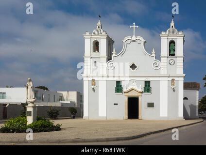 Igreja da nossa Senhora do populo, Benguela Province, Benguela, Angola - Stock Image