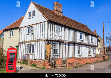 Sible Hedingham, Village Centre, essex, England, UK, GB - Stock Image