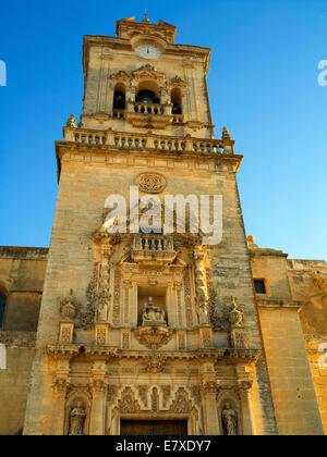 Church of San Pedro in Arco de la Frontera - Stock Image