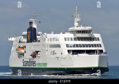 Scandlines Vogelfluglinie Hybrid-Ferry Prins Richard - Stock Image