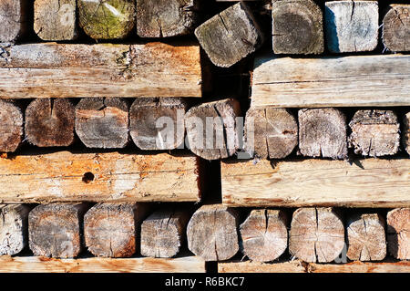 Timber Wood - Stock Image