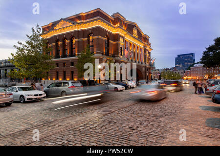 USA Maryland MD Baltimore Fells Point The Sagamore Pendry Hotel at dusk evening a luxury boutique hotel - Stock Image