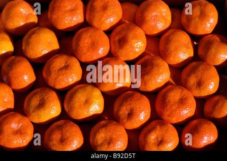 Mandarines - Stock Image