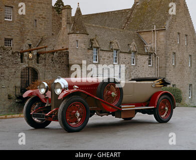 1930 Bentley 4 5 litre open tourer Country of origin United Kingdom - Stock Image