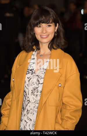 Red carpet arrivals for the UK Premiere of The White Crow at Curzon Mayfair  Featuring: Jasmine Hemsley Where: London, United Kingdom When: 12 Mar 2019 Credit: Phil Lewis/WENN.com - Stock Image