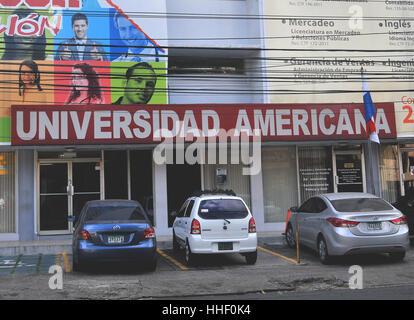 Universidad Americana Panama city Panama - Stock Image