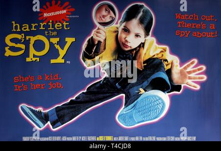 MICHELLE TRACHTENBERG POSTER, HARRIET THE SPY, 1996 - Stock Image