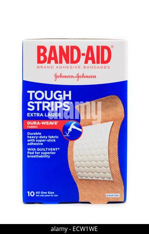 Band-Aid Adhesive Bandage - Stock Image