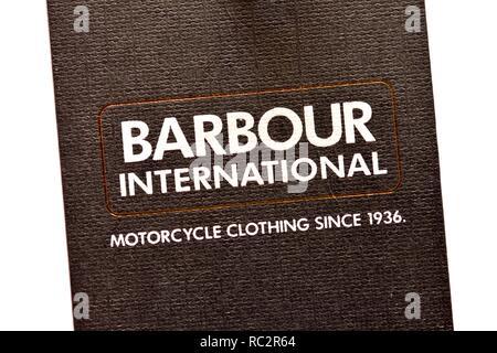 Barbour international - Stock Image