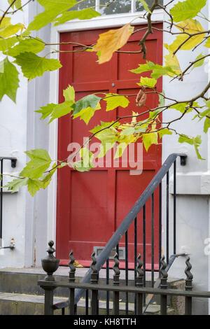Doorways in George Street Wolverhampton - Stock Image