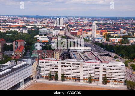 Skyline Stockholm - Stock Image