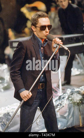GRAHAM PARKER AND THE RUMOUR UK rock group about 1978 - Stock Image