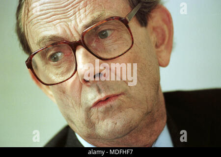 Nicholas Edwards, Lord Crickhowell born 25 February 1934 died 17 March 2018, Conservative Party politician and former Secretary of State for Wales. - Stock Image