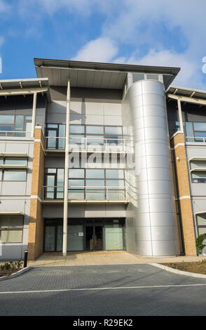 The Platinum Building St John's Innovation Park Cambridge England 2018 - Stock Image