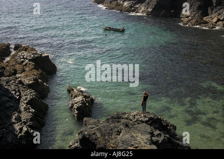 Cadgwith Cove, Cornwall - Stock Image
