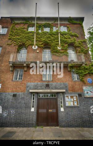 kingsley hall bromley by bow - Stock Image