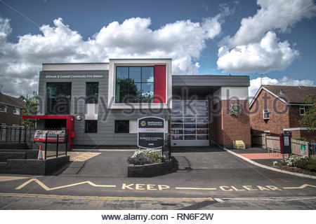 Billbrook and Codsall community fire station - Stock Image