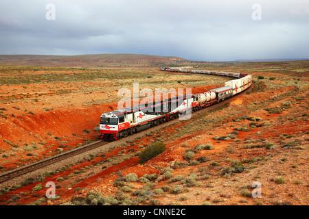 Train Woomera South Australia - Stock Image