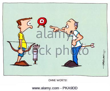 archery - Stock Image