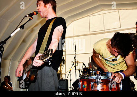 Rumble Strips live at Underage Festival in Victoria Park London. - Stock Image
