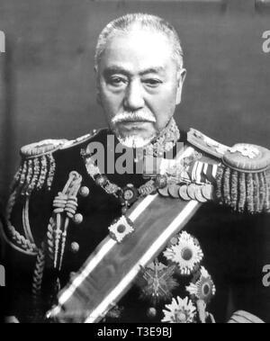 TOGO HEIHACHIRO (1848-1934) Imperial Japanese Naval Admiral - Stock Image