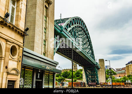 The Tyne Bridge, Newcastle-upon-Tyne, UK. - Stock Image