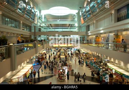 Dubai International Airport Terminal - Stock Image