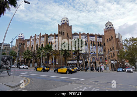 The Plaza Monumental de Barcelona Also Known As La Monumental Was A Bullring The Last Bullfighting Arena To Close In Catalonia - Stock Image