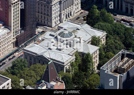 Tweed Courthouse in Downtown Manhattan - Stock Image