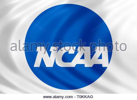 NCAA College Basketball logo - Stock Image