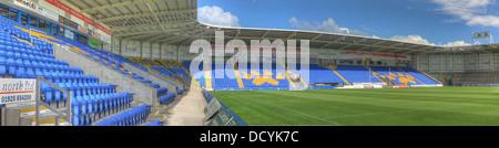at Halliwell Jones stadium, Mike Gregory Way / Winwick Rd, Warrington, WA2 7NE - Stock Image