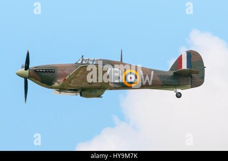 RAF BBMF Hawker Hurricane - Stock Image