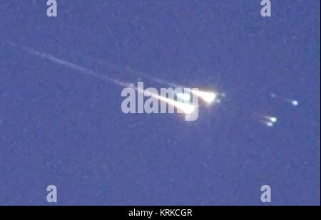WT-reentry-fireball-tight - Stock Image