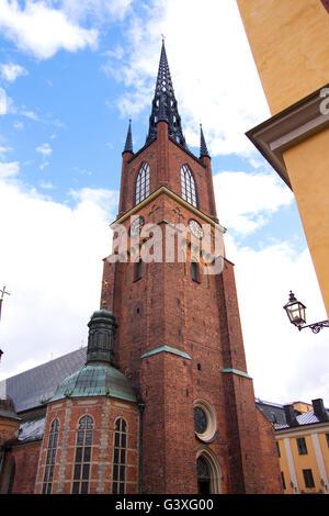 Riddarholmskyrkan Stockholm - Stock Image