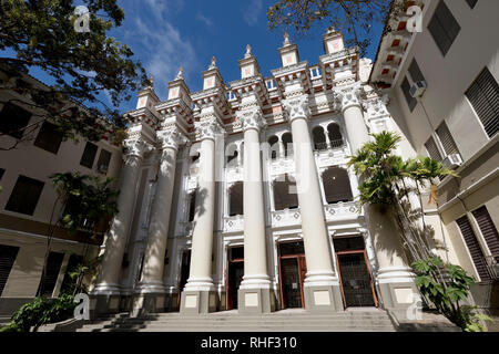 Central High School facade, San Juan, Puerto Rico - Stock Image