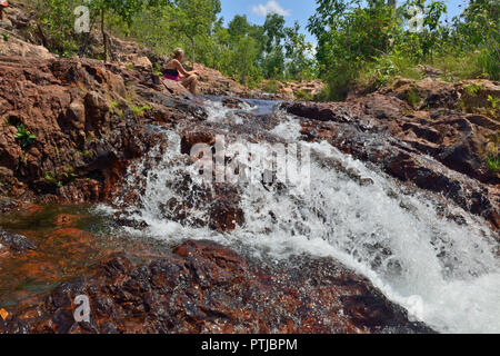 Buley Rockholes, Litchfield National Park, Northern Territory, Australia - Stock Image