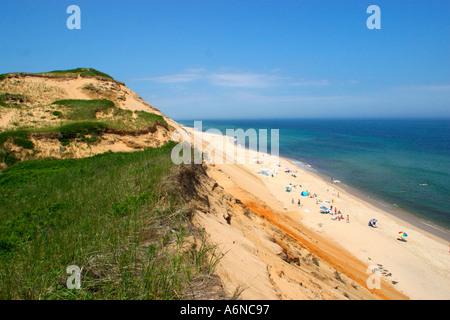 Cape Cod National Seashore Beach Truro Massachusetts - Stock Image