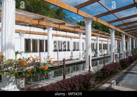 Memorial garden at the Australian War Memorial, Kundasang, Sabah, Malaysian Borneo. Note: Offered for reportage collection ahead of the ANZAC Day holiday in Aust. and NZ, 25 Apr 2018 - Stock Image