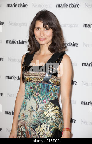Guests attend women's fashion monthly's awards show honouring ten female trailblazers and role models in partnership with Neutrogena  Featuring: Jasmine Hemsley Where: London, United Kingdom When: 09 Oct 2018 Credit: Phil Lewis/WENN.com - Stock Image