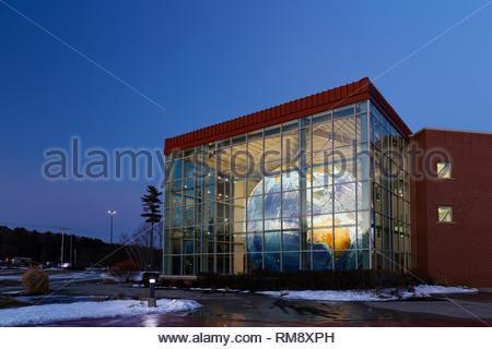 Garmin building, Yarmouth, Maine, USA - Stock Image